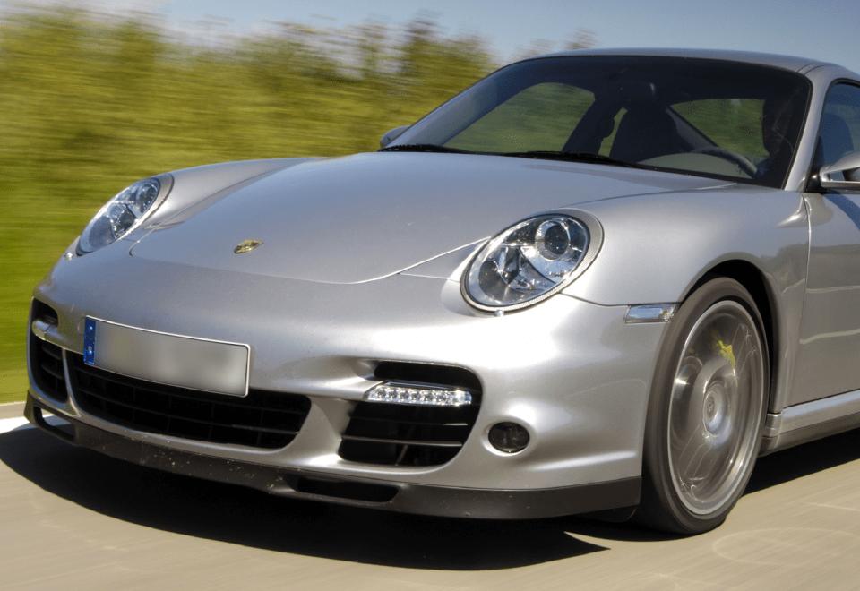 Porsche 997 Turbo aan 210 euro autoverzekering Erard